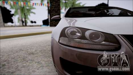 Volkswagen Golf GTI for GTA San Andreas inner view