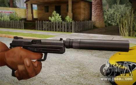 USP45 with silencer for GTA San Andreas