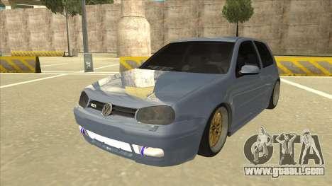 Volkswagen Golf MK4 Gti Eurolook for GTA San Andreas