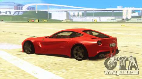 Ferrari F12 Berlinetta for GTA San Andreas right view