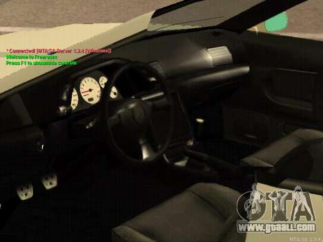 New Elegy for GTA San Andreas inner view