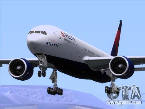 Boeing 777-200ER Delta Air Lines for GTA San Andreas