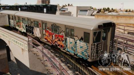 New graffiti on the Subway v1 for GTA 4