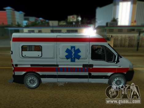 Renault Master Serbian AMBULANCE for GTA San Andreas left view