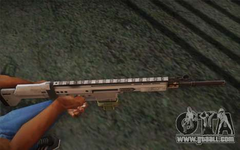 FN Scar for GTA San Andreas second screenshot
