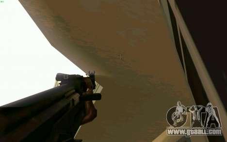 AK-47 for GTA San Andreas seventh screenshot