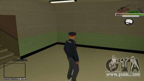 SAPD Pak skins for GTA San Andreas tenth screenshot