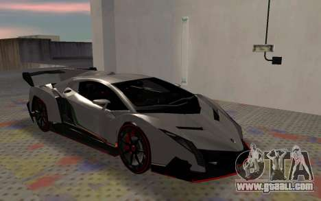 Lamborghini Veneno Advance Edition for GTA San Andreas left view