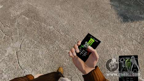 Themes for phone brands drinks for GTA 4 second screenshot