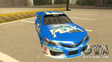 Toyota Camry NASCAR No. 15 Peak for GTA San Andreas left view