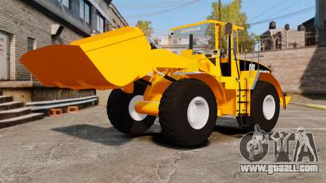 Front wheel loader Caterpillar 966 g for GTA 4 side view