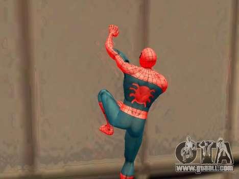 Climb walls like Spider-man for GTA San Andreas third screenshot