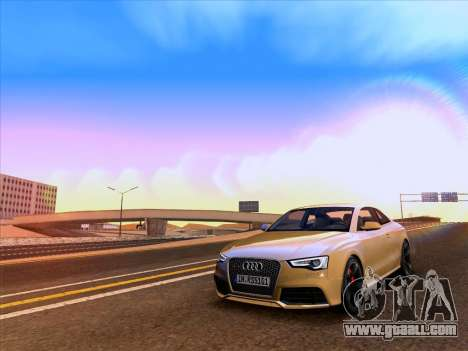 Audi RS5 2012 for GTA San Andreas side view