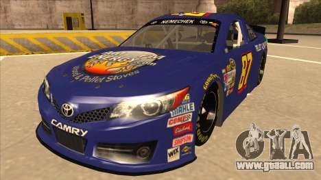 Toyota Camry NASCAR No. 87 AM FM Energy for GTA San Andreas