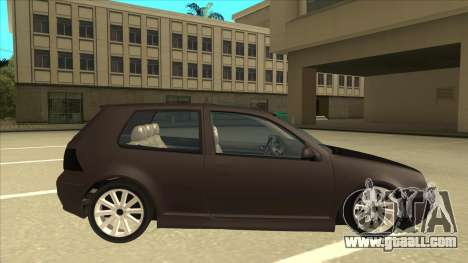 VW Golf 4 Tuned for GTA San Andreas back left view