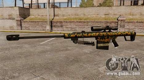 The Barrett M82 sniper rifle v13 for GTA 4 third screenshot