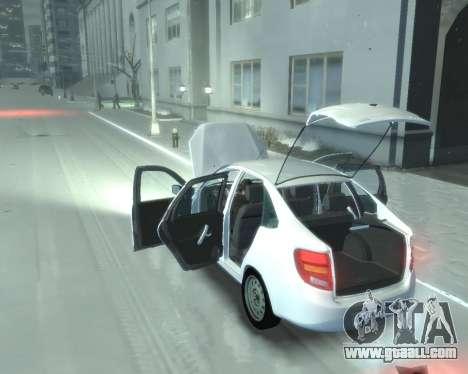 Lada Granta Hatch - VAZ 2191 for GTA 4 right view