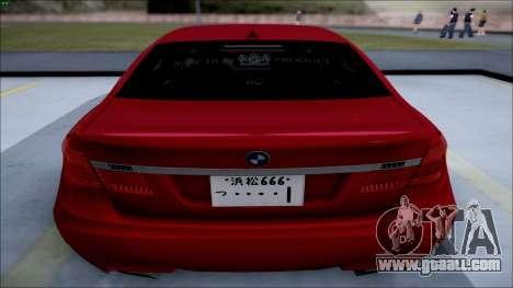 BMW 750 Li Vip Style for GTA San Andreas left view