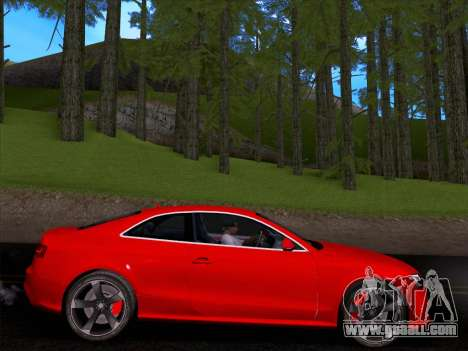 Audi RS5 2012 for GTA San Andreas right view