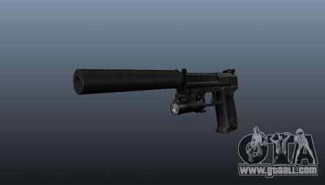 HK USP 45 pistol for GTA 4