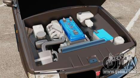 Gaz-3110 Pickup for GTA 4 inner view