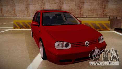 Volkswagen Golf Mk4 Euro for GTA San Andreas left view