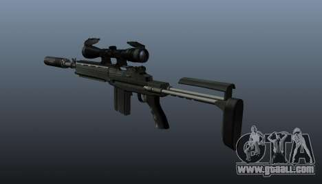 Automatic rifle M14 EBR v1 for GTA 4 second screenshot