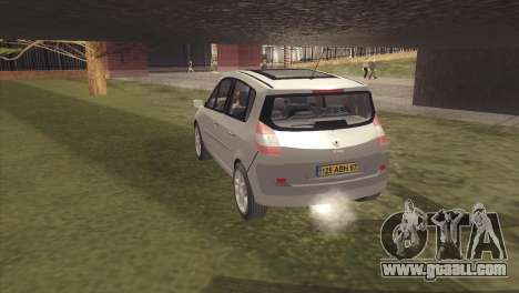 Renault Scenic 2 for GTA San Andreas left view