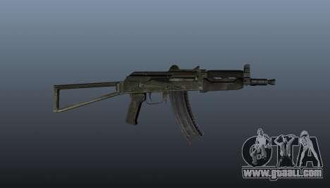 Automatic AKS74U v1 for GTA 4 third screenshot