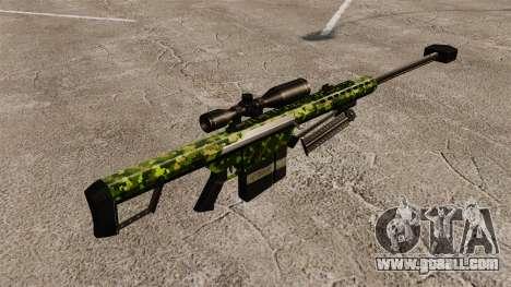 The Barrett M82 sniper rifle v4 for GTA 4 second screenshot