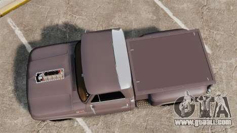 Chevrolet C-10 Stepside v3 for GTA 4 right view