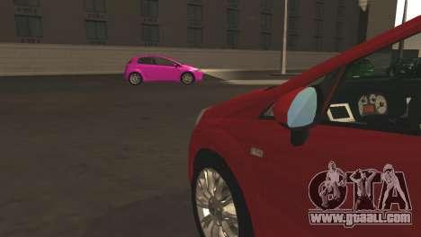 Fiat Grande Punto for GTA San Andreas
