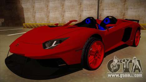 Lamborghini Aventador J V1 for GTA San Andreas