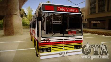 Caio Vitoria MB OF 1318 Metropolitana for GTA San Andreas back left view