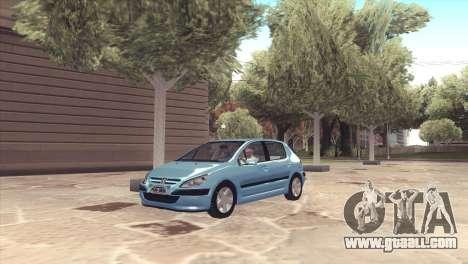 Peugeot 307 for GTA San Andreas