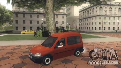 Opel Combo for GTA San Andreas