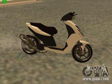 Piaggio NRG for GTA San Andreas