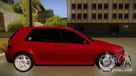 VW Golf GTI 2008 for GTA San Andreas back left view