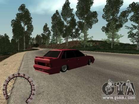 VAZ 2115 BPAN for GTA San Andreas back left view