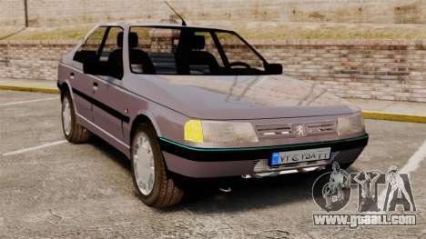 Peugeot 405 GLX for GTA 4