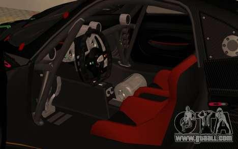 Pagani Zonda R SPS for GTA San Andreas back view