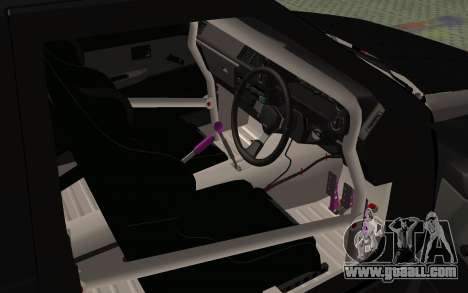 Toyota AE86 Street Drift for GTA San Andreas back view
