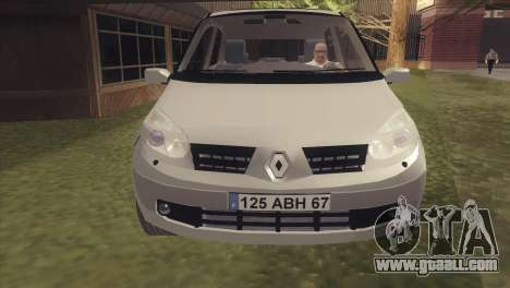 Renault Scenic 2 for GTA San Andreas back left view