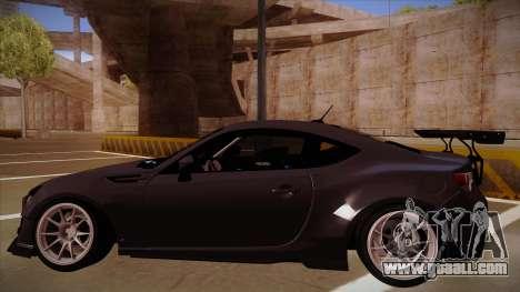 Subaru BRZ Rocket Bunny for GTA San Andreas right view