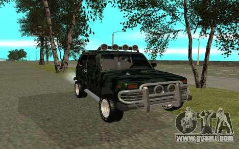 VAZ 21213 for GTA San Andreas