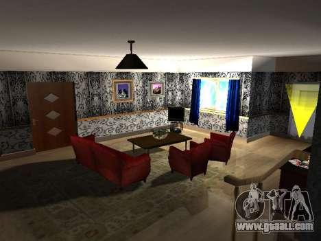 New interior 2-storeyed building CJ for GTA San Andreas