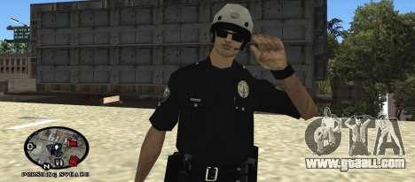 Los Angeles Air Support Division Pilot for GTA San Andreas second screenshot