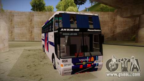 Busscar Jum Buss 400 P Volvo for GTA San Andreas left view
