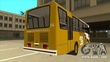 Mercedes-Benz OHL-1320 Linea 39 for GTA San Andreas right view