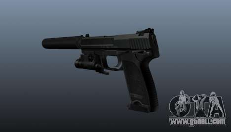HK USP 45 pistol for GTA 4 second screenshot